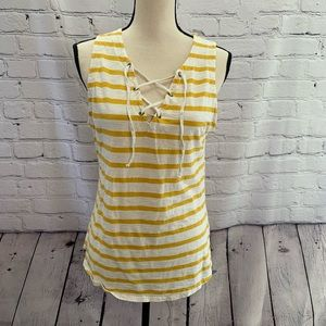Old Navy | striped sleeveless blouse